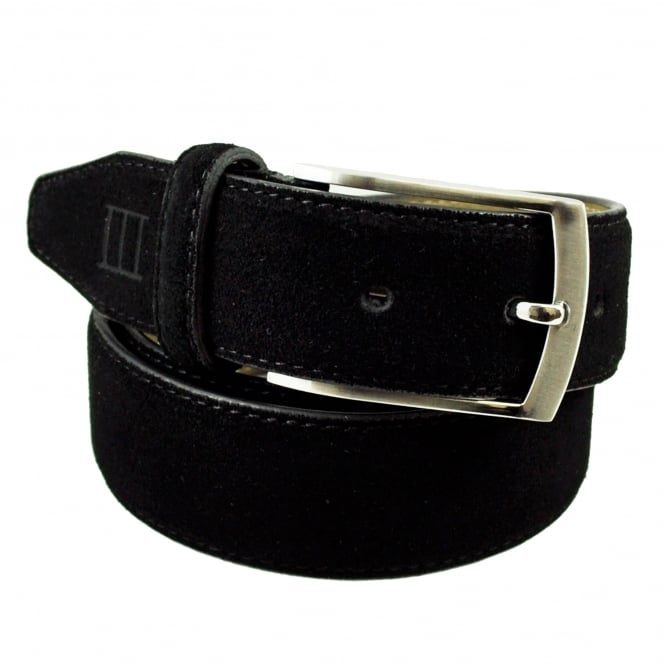 Tresanti Black Men's Suede Belt