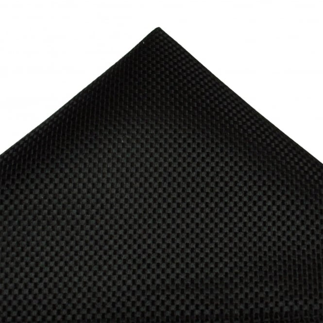 Tresanti Black Micro Checked Silk Pocket Square Handkerchief