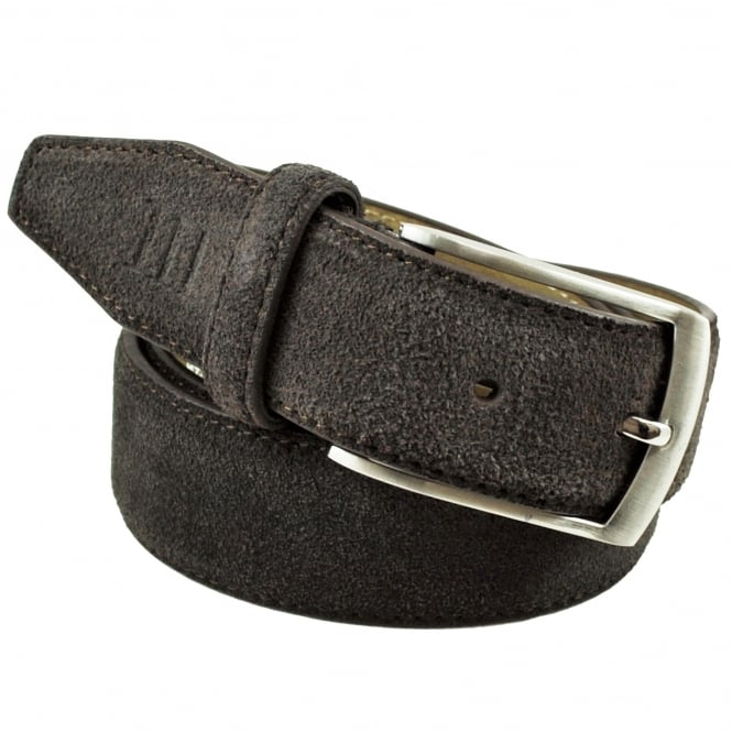 Tresanti Brown Men's Suede Belt