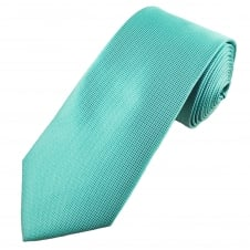 Turquoise Micro Pattern Men's Extra Long Tie