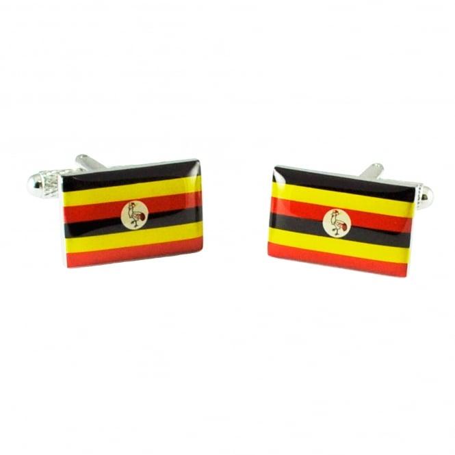 Uganda Flag Cufflinks