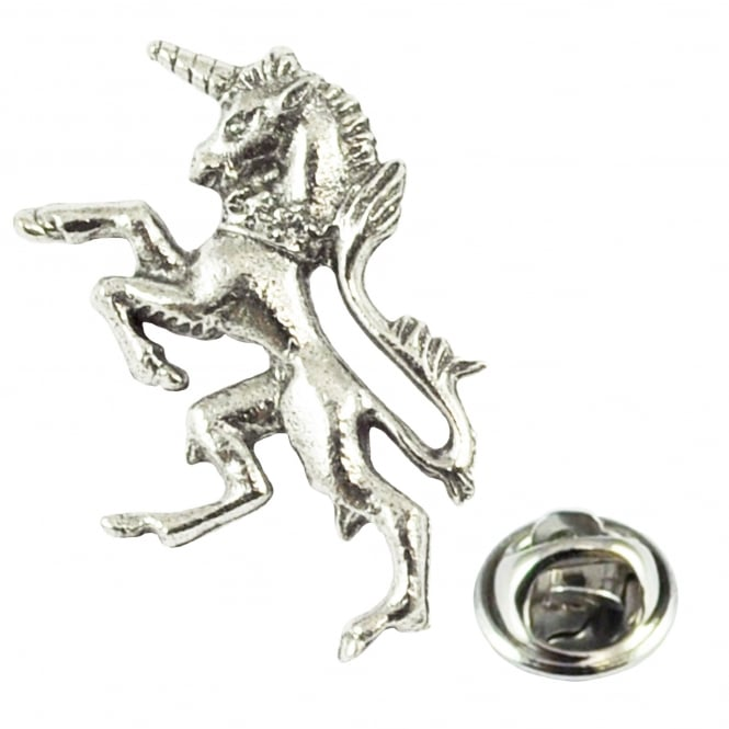 Unicorn of Scotland Pewter Lapel Pin Badge