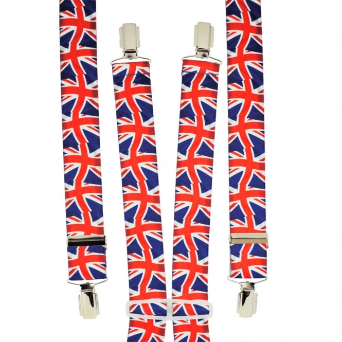 Union Jack Men's Trouser Braces