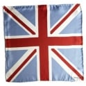 Union Jack Pocket Square Handkerchief by Simon Carter