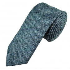 Van Buck Blue Check 100% Wool Tie