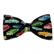 Van Buck Classic Cars Cotton Men's Bow Tie