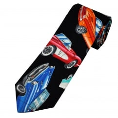 Van Buck Classic Cars Cotton Men's Tie