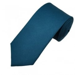 Van Buck Dark Blue Lambswool Tie