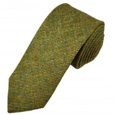 Van Buck Green Check 100% Wool Tie