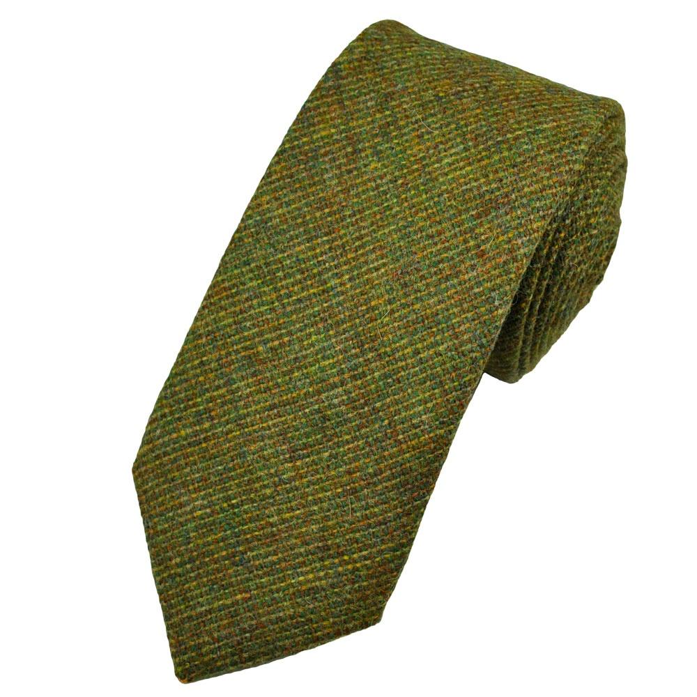 Van Buck Green Checked 100% Wool Tie from Ties Planet UK