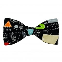 Van Buck Maths & School Blackboard Novelty Bow Tie