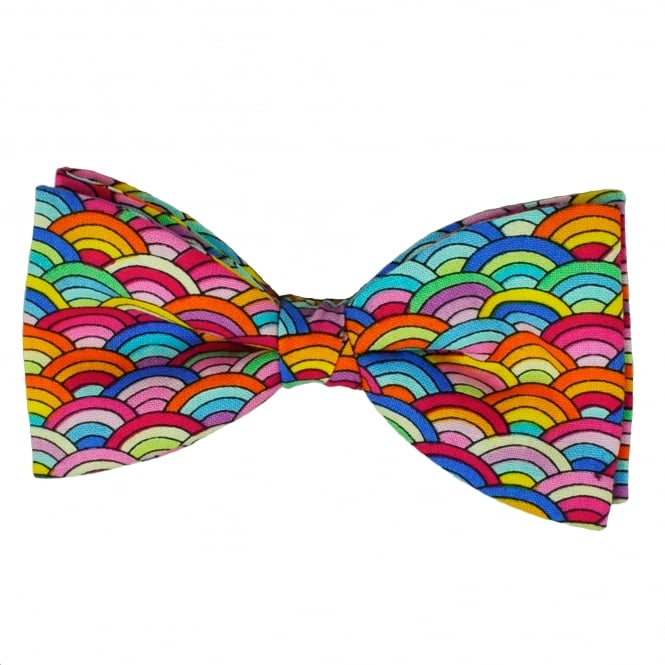 Van Buck Multi Coloured Patterned Novelty Bow Tie