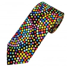 Van Buck Multi Coloured Polka Dot Cotton Men's Tie