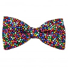Van Buck Multi Coloured Spot Pattern Cotton Men's Bow Tie
