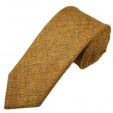 Van Buck Tan Check 100% Wool Tie