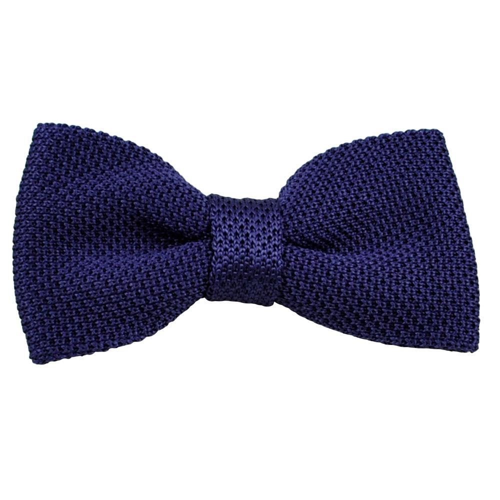 vidoni plain purple silk designer bow tie from