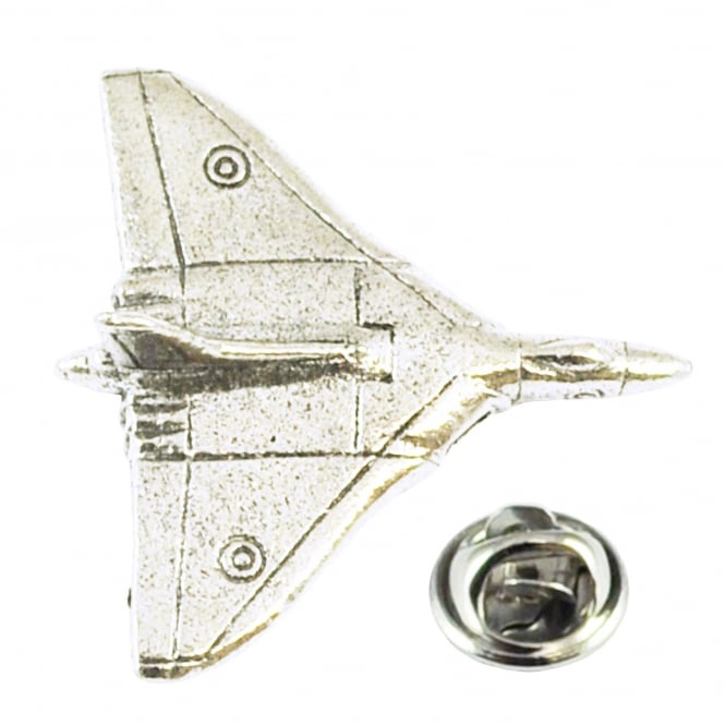Vulcan Bomber Pewter Lapel Pin Badge