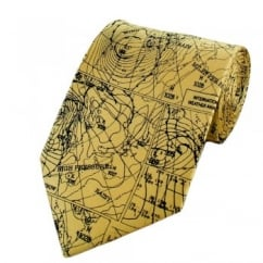 Weather Chart Novelty Tie