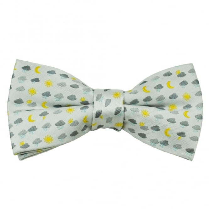 Weather Symbols Novelty Bow Tie