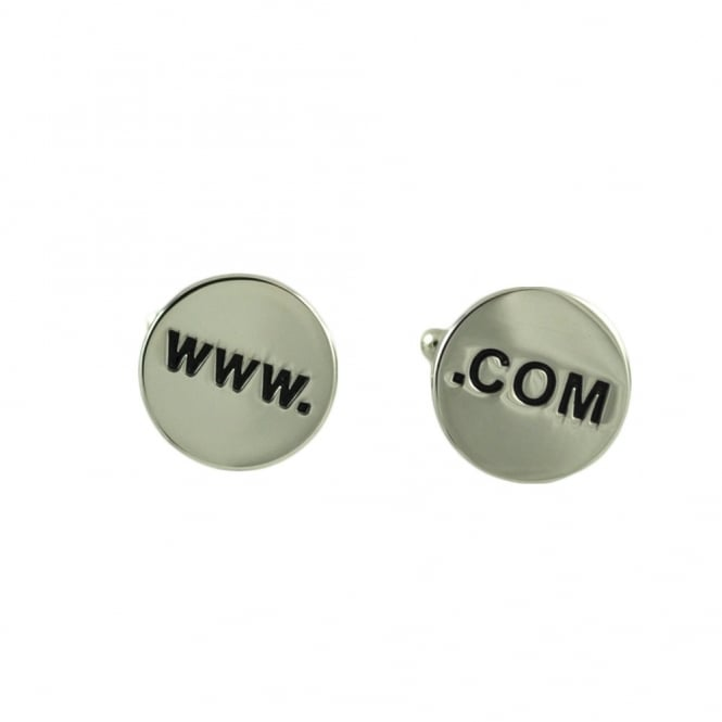 www. .com Internet Novelty Cufflinks