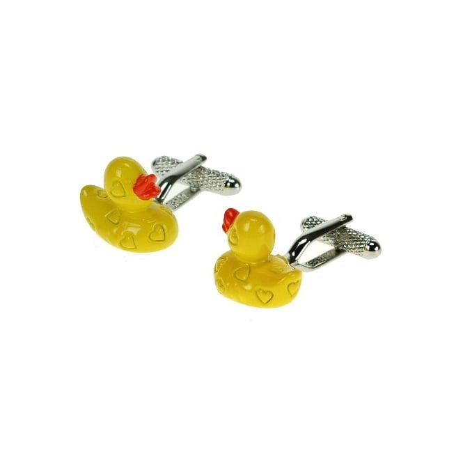 Yellow Duck Novelty Cufflinks